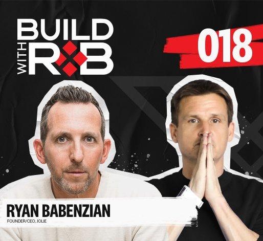 Dyrdek Machine's Latest Build with Jolie CEO Ryan Babenzein